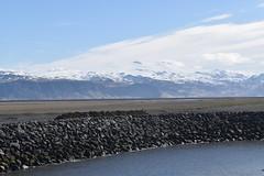 Eyjafjallajkull (Dick Dangerous) Tags: iceland westman islands vestmannaeyjar heimaey eyjafjallajkull harbour landeyhofn glacier volcano ice cap