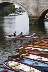 Untitled (Andrea Bertuzzi) Tags: london boat richmond takumar55mmf18