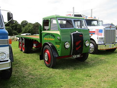 Ackworth Steam Rally 17.7.2016 (80) (bebopalieuday) Tags: ackworth steamrally foden gardnerdiesel 6wheeler flatbed lorry classictruck pontefract westyorkshire
