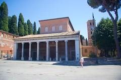 San Lorenzo fuori le Mura (Seoirse) Tags: san lorenzo fuori le mura minor papal basilica rome italy wife