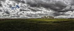 Rocks of Stonehenge (Luis DLF) Tags: rocks sky clouds stone stonehenge megalithic england uk salisbury sun people tourist landscape explore exploring past noledge