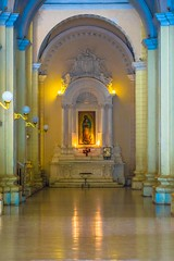 Inside the cathedral in Leon, Nicaragua.