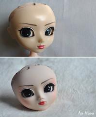 Pullip Rida: restoration and partial custom (Au Aizawa) Tags: pullip rida restoration custom customized japanese fashion doll partialcustom