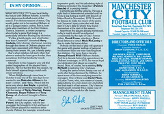 Manchester City vs Oldham Athletic - 1983 - Page 3 (The Sky Strikers) Tags: road xmas city canon magazine manchester football athletic maine second match oldham division saab league the 40p