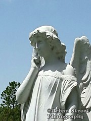 Arch angel 2 (Urban Street Photography) Tags: cemetery statue angel michael trumpet archangel photooftheday