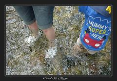 Cool & Clear.. (Tadie88) Tags: nikond7000 nikon18200lens carshaltonponds surrey water river riverwandle