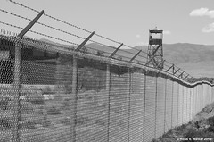 Keep Out - Version 3 (walkerross42) Tags: tower fence utah airport security barbedwire runway wendover airbase