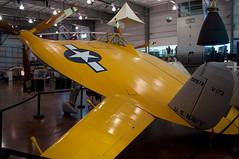 Vought V-173 Flying Pancake (stevesheriw) Tags: dallas texas frontiersofflight museum vought v173 flyingpancake