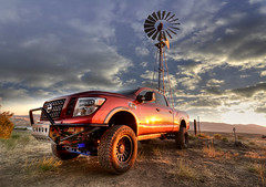 NISSAN PHOTO SHOOT (Chris Hatounian Photography) Tags: wideangle editorial rendering tokina nikon photomatix advertising atx116prodx scenic d7100 hdr hatounian clouds nikond7100 nissan ranch sunrise