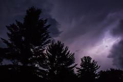 Light 1 (wanderingschnaars) Tags: adirondacks adk sony alpha a6000 lightning thunder storm night canon photography nature trees light sky natgeo national geographic