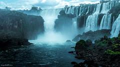 Iguaz 4 (soundmoods) Tags: iguaz iguau argentina brazil brasil waterfall water blue green forrest jungle stream