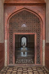 Interior, Humayun's Tomb, Delhi, India (bfryxell) Tags: cenotaph delhi humayunstomb india