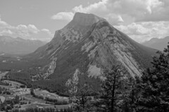 Mt. Rundle, Banff National Park (Kokanee-YYZ) Tags: banff mt rundle sony rx100m2 mountain blackwhite bw