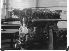 Ray Wagner Collection Image (San Diego Air & Space Museum Archives) Tags: ray wagner liberty l12 12cylinder engine