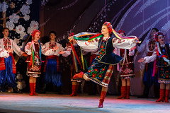 2016-05-14_Dance_034705 (l0pht) Tags: barvinochok dance ukraine art attractive clothes concert costume dancer embroidery ensemble ethnic folk kyiv many national performance performer pretty red show stage tradition ukrainian young