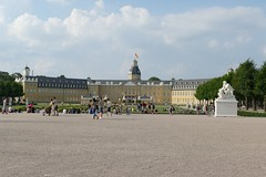 Karlsruhe Palace in summer 2016 (BZK2011) Tags: karlsruhe schlos palace stadtmitte leica vlux sommer summer