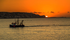 www (virgosimon) Tags: sunrise boat sun sea ocean fishing