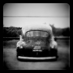 Evil... (iEagle2) Tags: car americancar blackandwhite blackwhite bw iphone iphone4