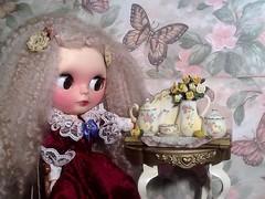 Blythe-a-Day July#3: Home Alone: Ava as Miss Havisham