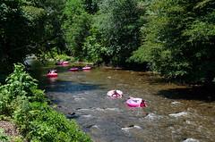 (Jackson Chu) Tags: 2016 ga georgia helen nikond7000 activity attraction d7000 fun kids lazy nikon outdoors people pink river tube tubing water