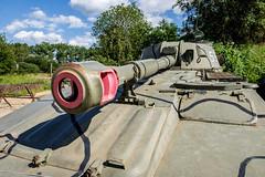 2S1 Gvozdika self propelled howitzer (The Adventurous Eye) Tags: 2s1 gvozdika self propelled howitzer museum demarkation line rokycany muzeum na demarkační linii military army ww2
