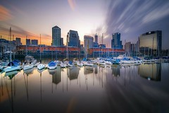 Puerto Madero (karinavera) Tags: travel nikond5300 city argentina urban longexposure water buenosaires ndfilter cityscape day wow