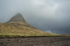 Kirkjufell 06 (sarahmonious) Tags: kirkjufell snfellsnespeninsula snfellsnes mountain churchmountain fog ringroad route1iceland route1 iceland iceland2016 travelingkirkjufell traveling