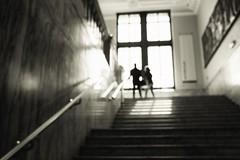 ** (donvucl) Tags: london va figure figures blur fujix100s bw blackandwhite donvucl interior lightandshade