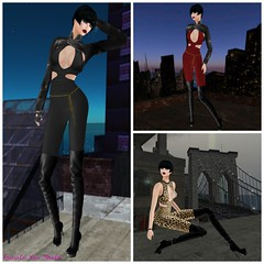 Sometimes I'm good. Oh, I'm very good. But sometimes I'm bad. But only as bad as I wanna be. (EmmaLee Streeter) Tags: rnrswag black blog catsuit fashion glamorize katink kunst model nomatch pinkfuel realevilindustries secondlife rr