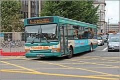 Cardiff Bus Y387GAX 387 (welshpete2007) Tags: cardiff bus dart y387gax 387