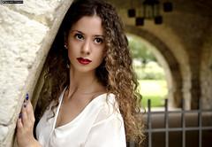 michela_DSC9399modfirma (manuele_pagani) Tags: portrait curly hair big eyes girl beauty teen italian fossanova