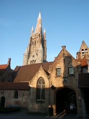 Hôpital saint-Jean à Bruges (alain_halter) Tags: belgique brique bruges façade clocher faade régionflamande