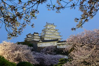 風華再現 ~Dawn and Night light up of Himeji Castle @ Himeji, 姬路城 ~
