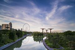 Marina - Garden (Retro Lovers) Tags: zeiss canon garden singapore 6d bayfront distagon 21mm marinabay gnd hardedge leefilter bigstopper