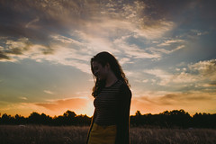 (Rogerio Vasconcelos) Tags: sunset portrait nature landscape feminine