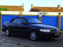2000 Saab 9-3 S Cabriolet (Dirk A.) Tags: onk 36fjzz