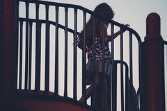 Playground (AGraddyPhoto) Tags: girl playground canon outdoors child daughter shilloette canon6d agraddyphoto canon70200mml40isusm