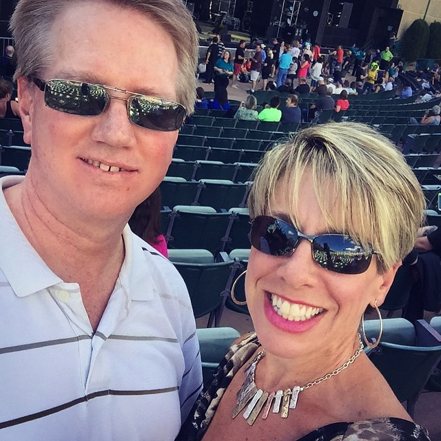 B-52s, Berlin, & Tears for Fears tonight with my honey for Fathers Day. 😍