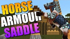 Craftable Horse Armour and Saddle Mod (Teen Thng Tn) Tags: game 3d minecraft