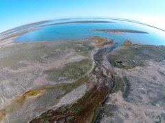 Where We Went (Fish as art) Tags: geography nunavut aerialphotography northerncanada canadianarctic