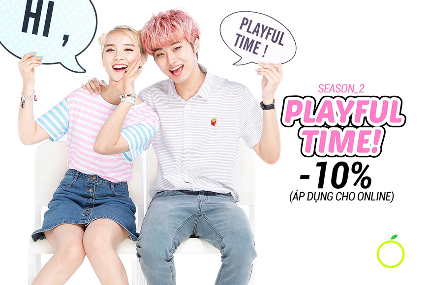 2016 SEASON 2 - PLAYFUL TIME