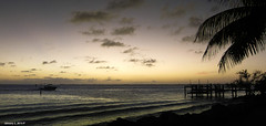 The Sun Has Dropped (Denzil D) Tags: florida floridakeys sunset wifescamera canon water atlanticocean beach ocean