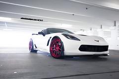 Chevy Corvette C7 Z07 on ADV005 Track Spec CS (wheels_boutique) Tags: chevrolet chevy corvette vette z06 pirelli c7 adv1 z07 pirellitires wheelsboutique adv1wheels teamwb wheelsboutiquecom brushedred