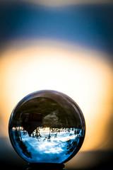 _DSC3476 (Gaute Bruvik) Tags: sol midnattsol speiling glasskule