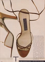 "Vogue "" The Eye-Catchers"" March 1978 (moogirl2) Tags: vintage retro vogue 70s 1978 70sstyle irvingpenn vintagevogue 70sfashions 70sshoes 70sfootwear"