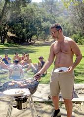 IMG_6894 (danimaniacs) Tags: party griffithpark hot sexy man guy shirtless hunk beard scruff
