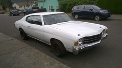 Chevrolet Chevelle (Chevrolet Wagoneer's) Tags: chevrolet car st oregon vintage portland 1971 gm pacific northwest general muscle side north stjohns chevelle motors chevy pacificnorthwest vehicle pdx parked 1970 1970s 1972 curb pnw ptown johns 503 northportland saintjohns 97203
