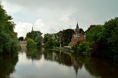 Minnewater Bruges (l-vandervegt) Tags: 2014 nikon d3200 belgie belgium brugge vlaanderen minnewater bruges water