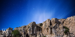 Cliffs and Sky (McCarthy's PhotoWorks) Tags: malta mgiebah astronomy cliff coralline geology limestone nature night nightsky outdoor rock rockface sky space star starry wilderness