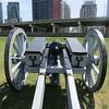 Big Gun Time (Hydra5) Tags: cannon gunfire demonstration fortyork battleofyork 1812